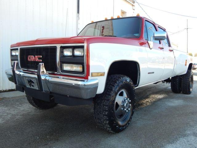 1987 Chevrolet K30 Silverado Crew Cab 454 Big Block Rust