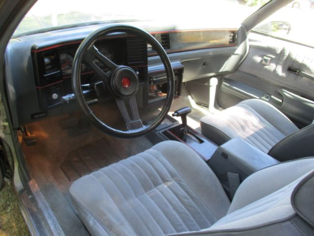 1987 Chevrolet Monte Carlo Ss 44 000 Miles T Top Silver Exterior Gray Interior For Sale