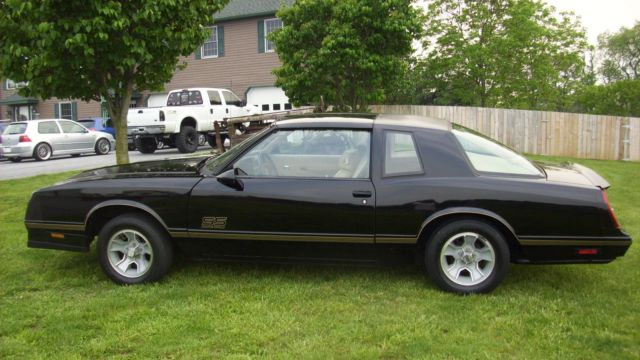 1987 chevrolet monte carlo ss aero coupe for sale chevrolet monte carlo aero coupe 1987 for. Black Bedroom Furniture Sets. Home Design Ideas