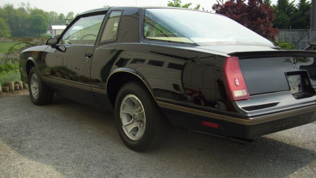 1987 Chevrolet Monte Carlo Ss Aero Coupe For Sale Chevrolet Monte Carlo Aero Coupe 1987 For
