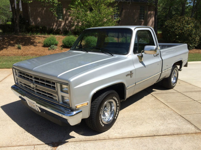 1987 chevy r10 long bed