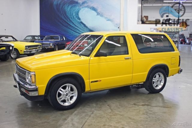 1987 chevrolet s10 blazer z28 lt1 5 7l and t56 6 speed for