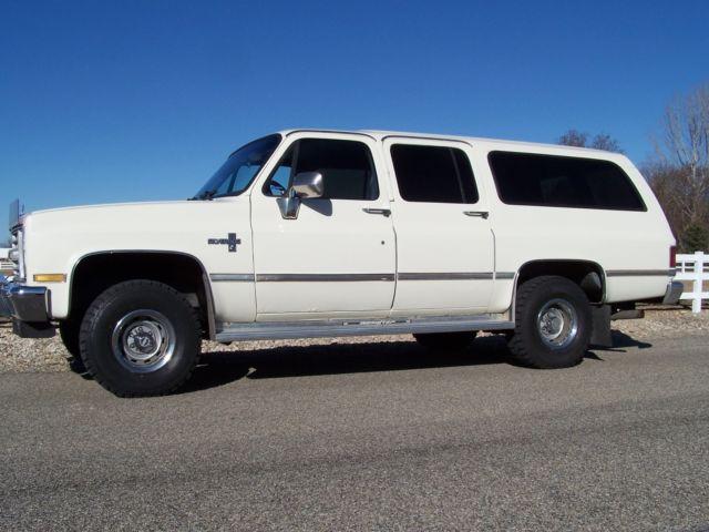 Smith Chevrolet Idaho Falls >> 1987 Chevrolet V10 K10 GMC Suburban 4x4 Silverado 5.7L 1 ...