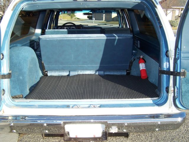 Smith Chevrolet Idaho Falls >> 1987 Chevrolet V10 K10 GMC Suburban 4x4 Silverado 5.7L 1 Owner 99% Rust Free for sale ...