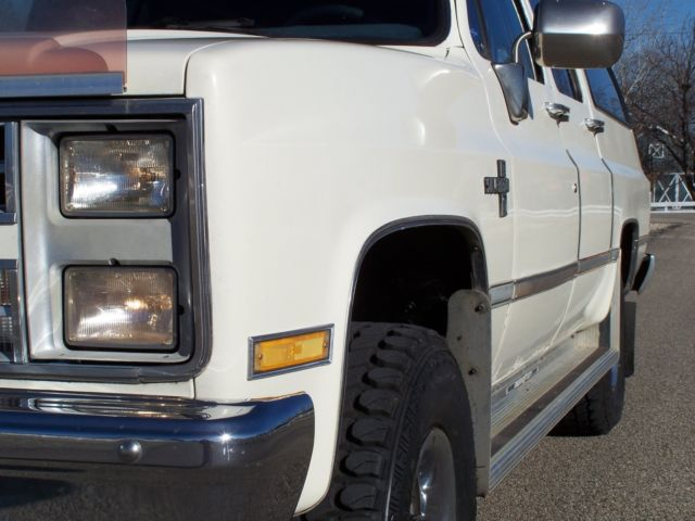 Smith Chevrolet Idaho Falls >> 1987 Chevrolet V10 K10 GMC Suburban 4x4 Silverado 5.7L 1 Owner 99% Rust Free for sale ...