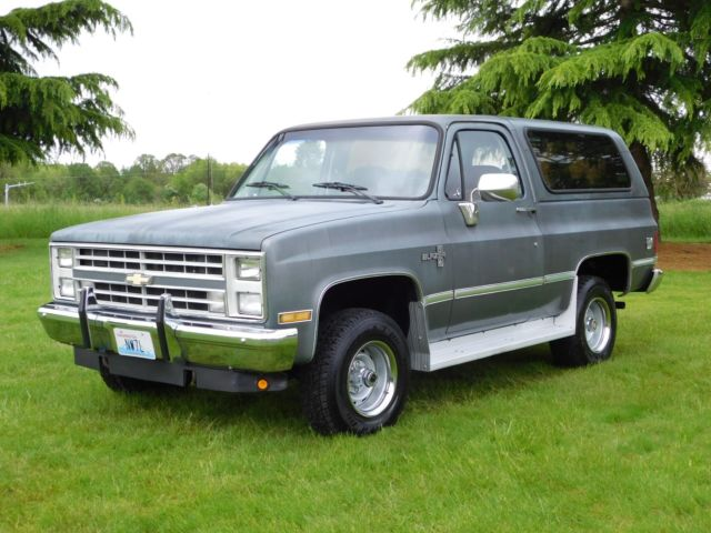 1987 chevy k5 blazer 4x4 350 v8 fi automatic great running for Chevy v8 motors for sale