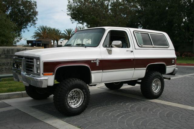 1987 chevy k5 blazer silverado diesel lifted 4x4 auto. Black Bedroom Furniture Sets. Home Design Ideas