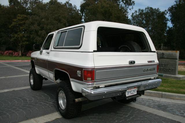 1987 Chevy K5 Blazer Silverado DIESEL, Lifted, 4x4, Auto, Fully Loaded ...