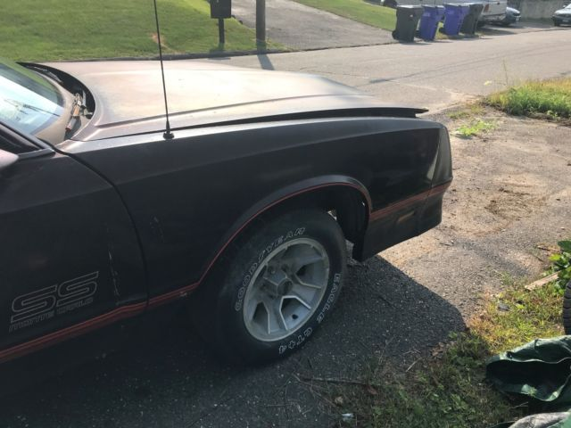 1987 Chevy Monte Carlo Aerocoupe plus Lots of Extra Parts for sale