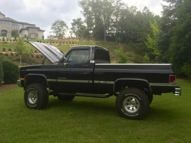 1987 chevy silverado c k 10 short bed 4x4 for sale. Black Bedroom Furniture Sets. Home Design Ideas