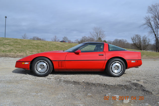 1987 corvette targa 5 7l auto loaded excellent condition. Black Bedroom Furniture Sets. Home Design Ideas