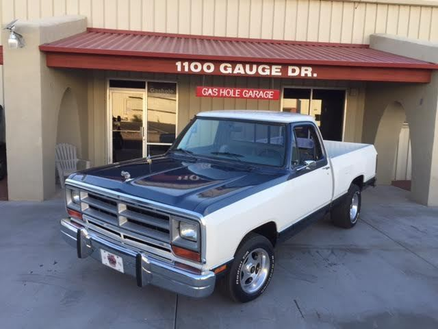1987 Dodge D150 Base Standard Cab Short Box Pickup 2 Door