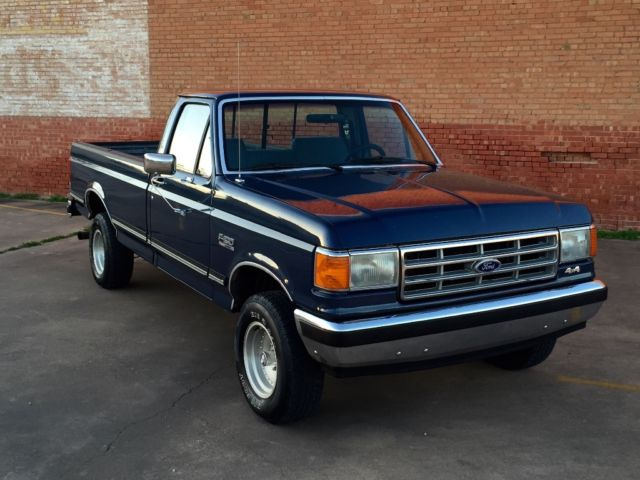 1987 Ford F150 >> 1987 Ford F-150 XLT Lariat 4x4 automatic 351w Survivor for