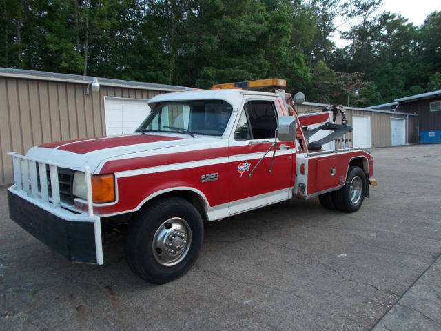 1987 Ford F-350 Wrecker Tow Truck FactoryBuilt for sale