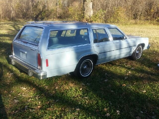 1987 Ford Ltd Crown Victoria Base 4dr Wagon Automatic 4