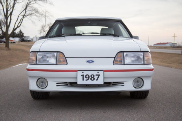 1987 Ford Mustang Gt Convertible 5 0 V8 Automatic Only