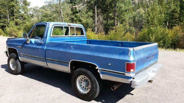 1987 gmc   chevrolet sierra truck c  k k2500 4x4 excellent virtually rust free for sale GMC Savana 1971 GMC