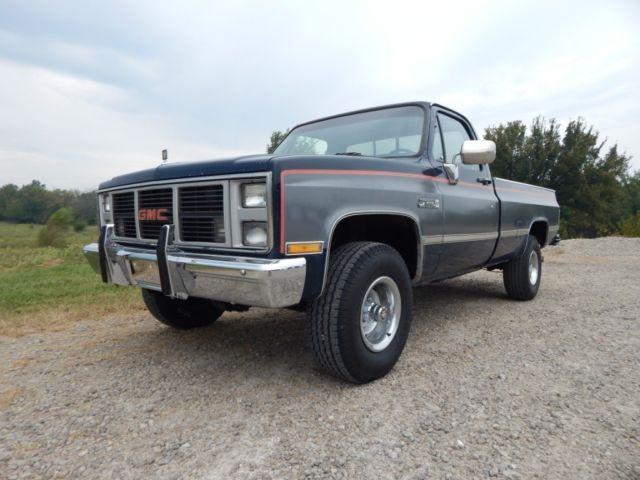 1987 gmc k10 fuel injected 350 4x4 original rust free truck for sale chevrolet c k pickup. Black Bedroom Furniture Sets. Home Design Ideas