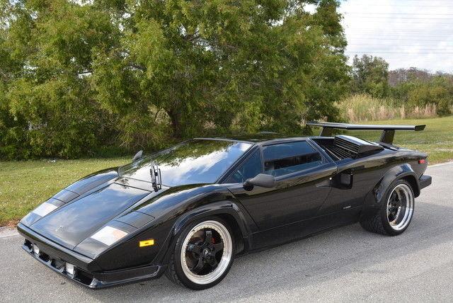 1987 Lamborghini Countach 5000 Qv Serviced Best Priced For Sale