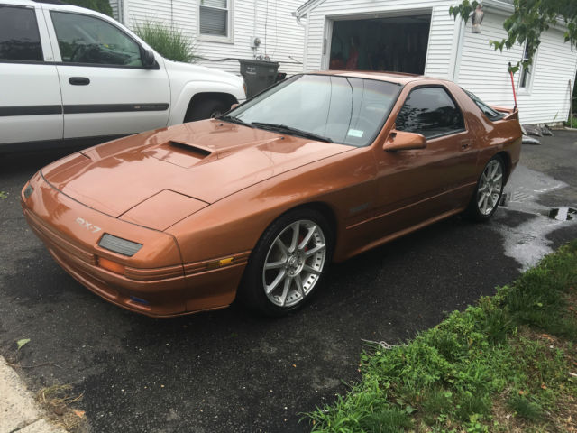 1987 Mazda Rx 7 Turbo Ii Coupe 2 Door 1 3l Fc3s For Sale
