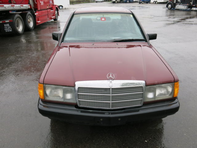 1987 mercedes 190d 2 5 turbo diesel runs drives awesome for sale mercedes benz 190 series. Black Bedroom Furniture Sets. Home Design Ideas