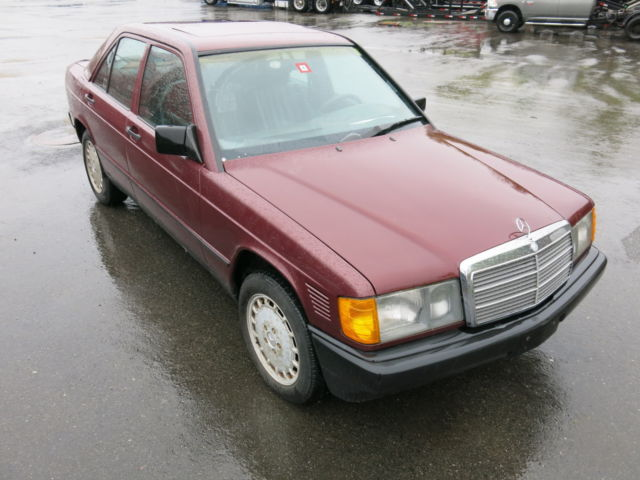 1987 mercedes 190d 2 5 turbo diesel runs drives awesome for Mercedes benz 190d for sale