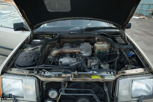 1987 mercedes 300d turbo diesel no reserve for sale for Mercedes benz 300d engine for sale