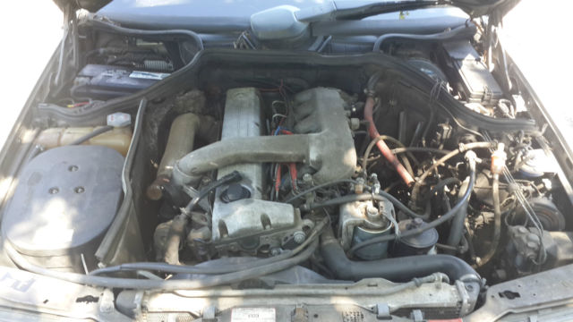 1987 mercedes 300d turbo diesel with wvo veggie oil for Mercedes benz 300d engine for sale
