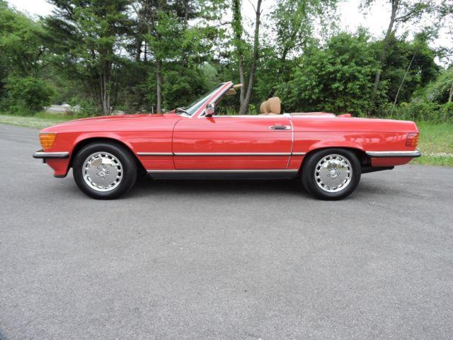 1987 Mercedes 560sl Euro Look Excellent Condition 88k Mi