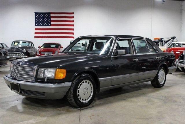 1987 mercedes benz 420 sel 113408 miles medium gray for 1987 mercedes benz 420sel