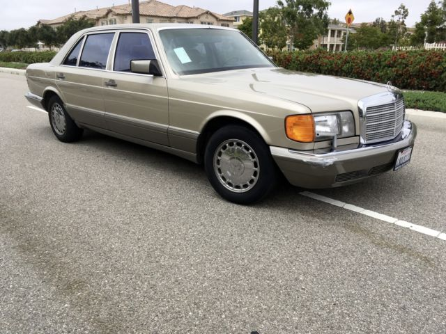 1987 mercedes benz 420sel 2nd owner since new all books for Mercedes benz of oxnard