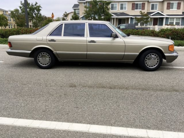 1987 mercedes benz 420sel 2nd owner since new all books for Books mercedes benz