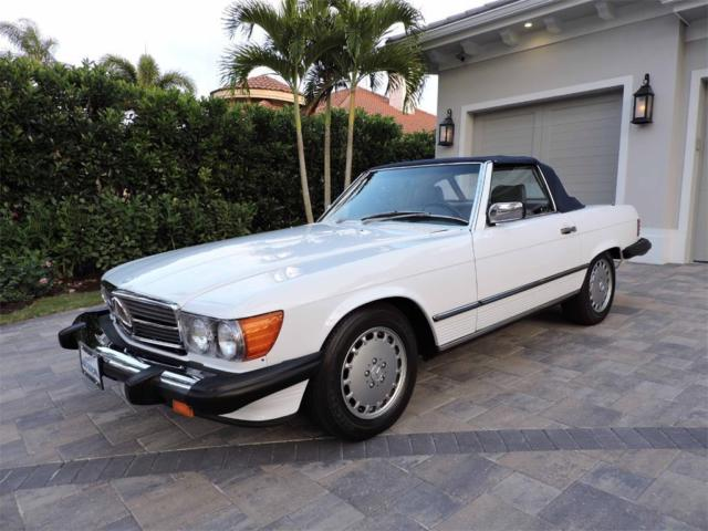 1987 Mercedes Benz 560 Sl Low Miles Immaculate Both Tops