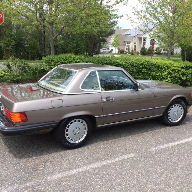 1987 mercedes benz 560 sl rear seat 15 500 original miles for Mercedes benz seats for sale