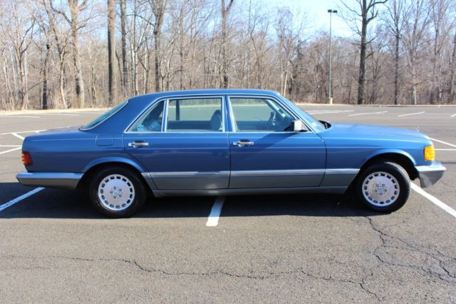 1987 mercedes benz 560sel low miles w126 no reserve for for Mercedes benz w126 for sale