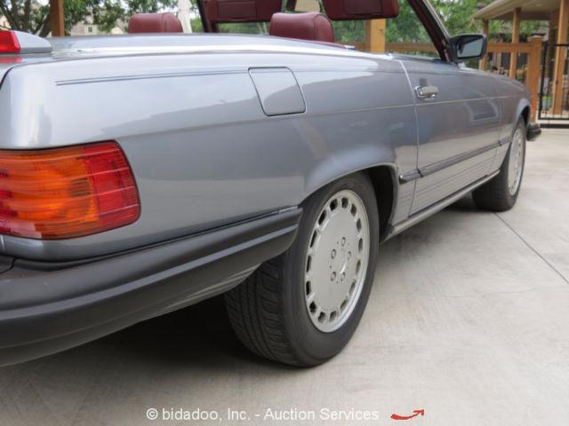 1987 mercedes benz 560sl 2 door convertible roadster w for Mercedes benz hardtop convertible