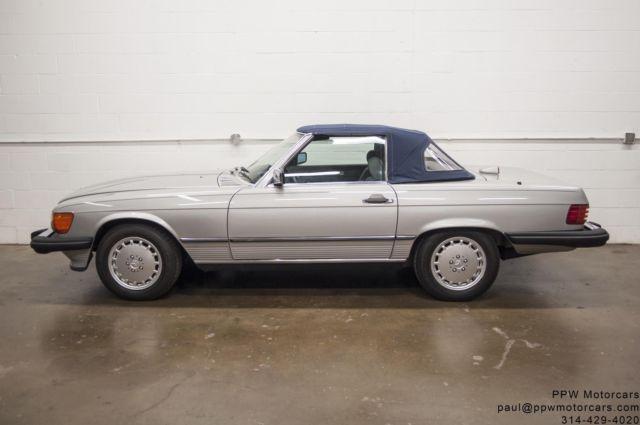 1987 mercedes benz 560sl 87 827 miles all books serviced for Mercedes benz st louis service