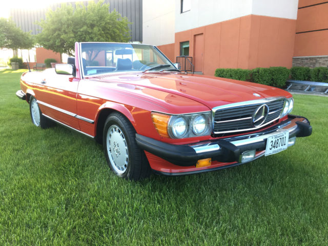 1987 mercedes benz 560sl blue chip investment grade for Classic mercedes benz for sale ebay