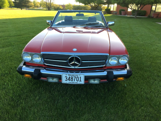 1987 mercedes benz 560sl blue chip investment grade for Mercedes benz performance chips