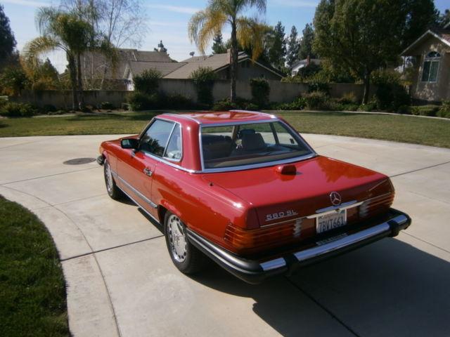 1987 mercedes benz 560sl california car 58k miles for San juan capistrano mercedes benz