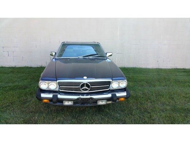 1987 Mercedes Benz Sl Class 560 Class 560sl 83245 Miles