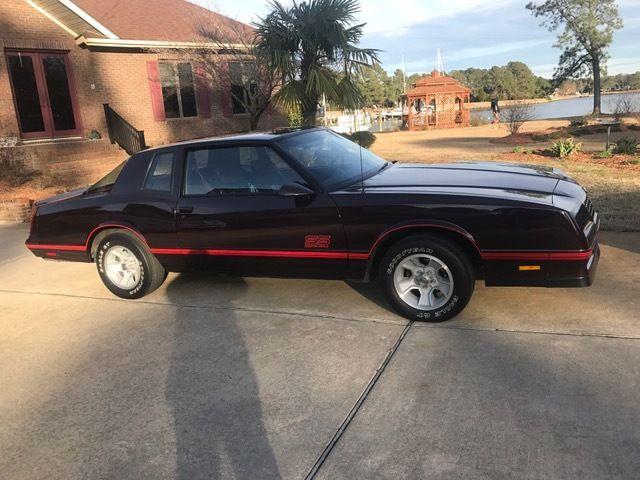1987 Chevy Monte Carlo Ss For Sale >> 1987 Monte Carlo Aerocoupe for sale - Chevrolet Monte Carlo 1987 for sale in New Bern, North ...