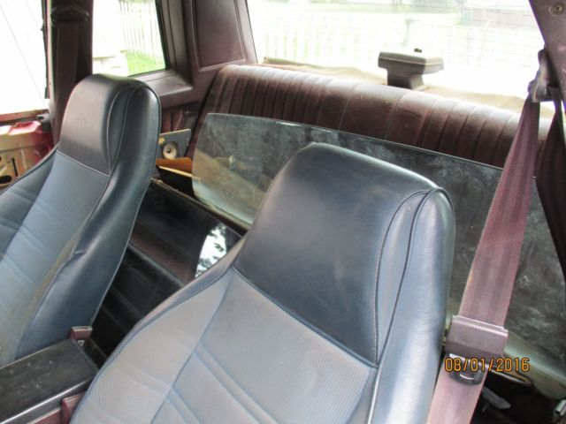 1987 MONTE CARLO SS PARTS OR RESTORE for sale - Chevrolet