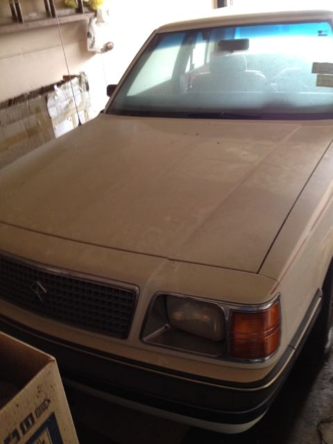 1987 Plymouth Reliant LE Sedan 4-Door 2.2L for sale ... |Plymouth Reliant White