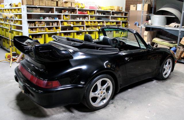 1987 Porsche 911 Cabriolet Factory Tara Kit Amp Gt Whale S