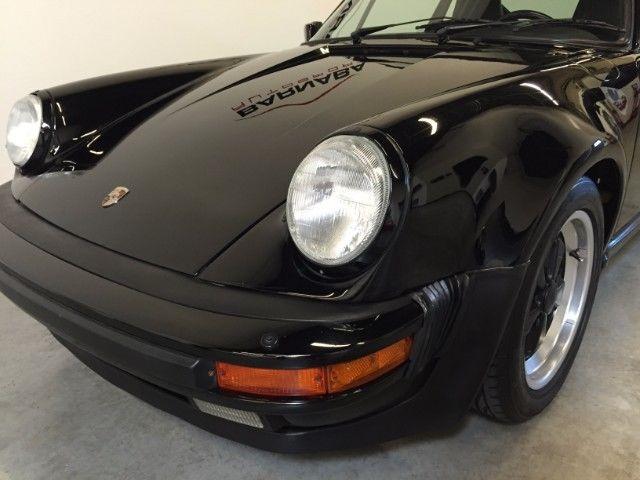 1987 porsche 911 carrera turbo 51379 miles black flat 6 cylinder engine 3 3l 20 for sale. Black Bedroom Furniture Sets. Home Design Ideas