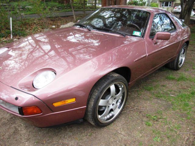 1987 Porsche 928 S4 Cassis Red Automatic Nj Title Clean