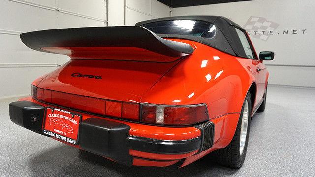 1987 red 911 cabriolet air cooled porsche for sale. Black Bedroom Furniture Sets. Home Design Ideas