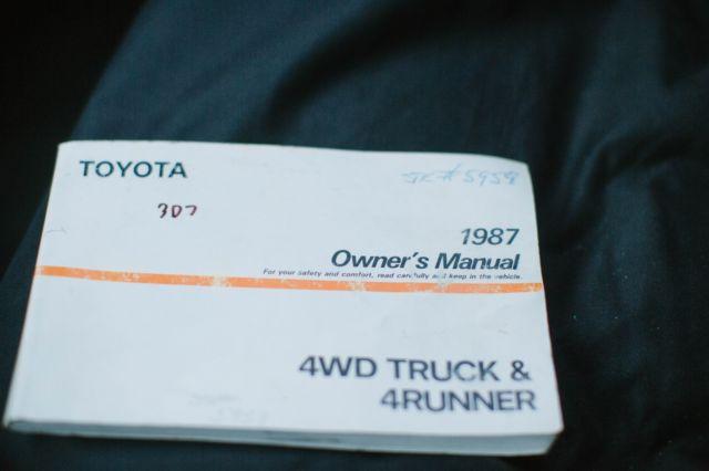 1987 Toyota 4Runner 22RTE 4x4, New Engine w/Warranty for