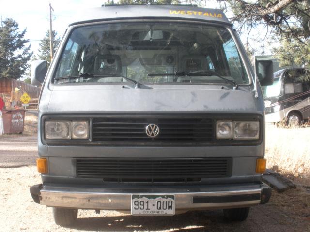 1987 Volkswagen Vanagon Westfalia Custom TECA interior Solar